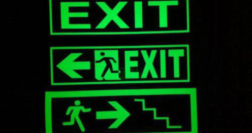 Safety Exit Signage