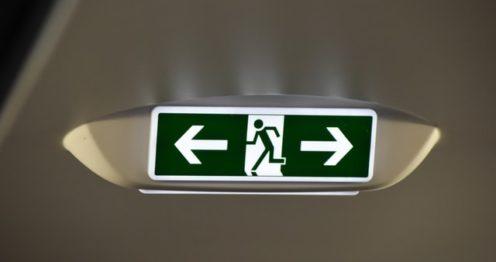 Emergency Exit Lights