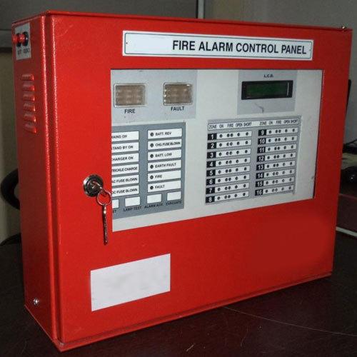 16 zone fire alarm panel
