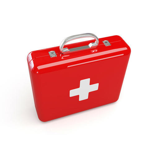 Emergency Steel First Aid Kit Box