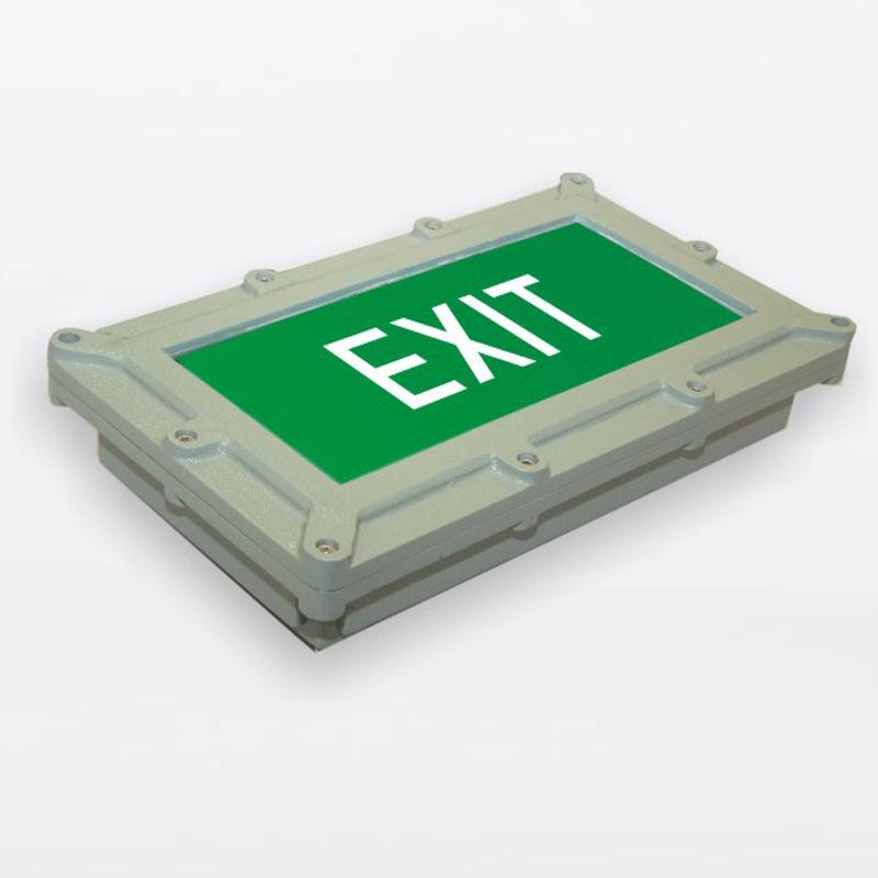 Flame Proof Exit Light LED Light E-M-FP-W