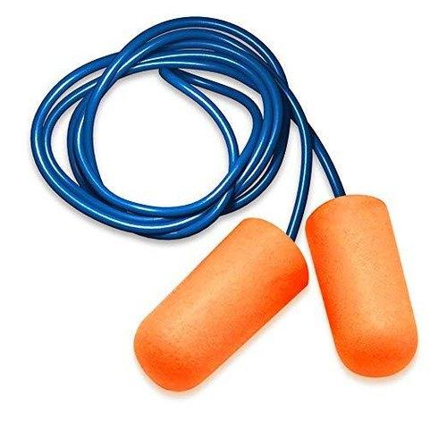 Orange Silicone Safety Ear Plug