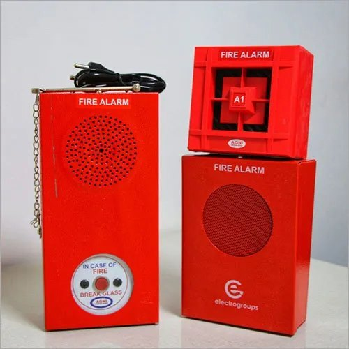 electronic sounder fire alarm