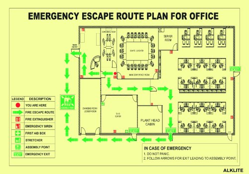 evacuation plan for fire