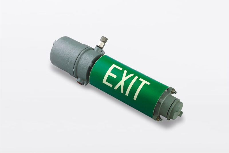 flame proof exit light